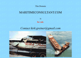 maritimeconsultant.com
