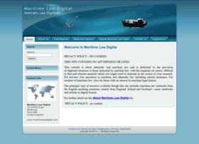 maritimelawdigital.com