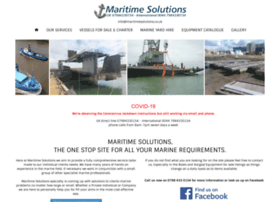 maritimesolutions.co.uk