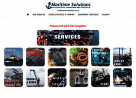 maritimesolutions.co.uk