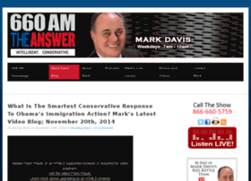 markdavis.660amtheanswer.com