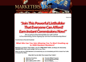marketers-list.com