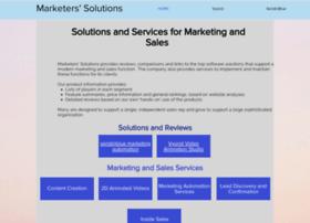 marketerssolutions.com