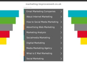 marketing-improvement.co.uk
