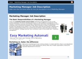 marketing-manager-job-description.com