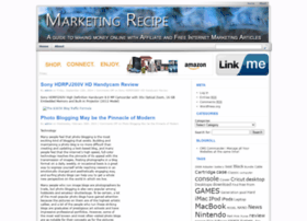 marketing-recipe.com
