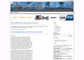 marketing-recipe.com