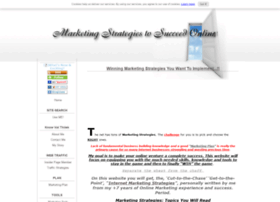 marketing-strategies-to-succeed-online.com
