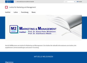 marketing.uni-hannover.de