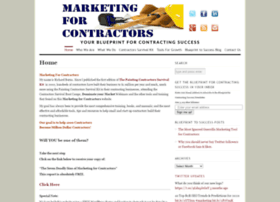 marketingforcontractors.com