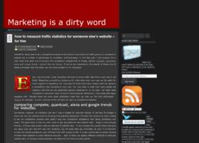 marketingisadirtyword.wordpress.com