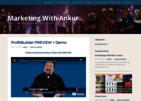 marketingwithankur.com