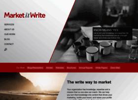 marketitwrite.com
