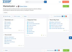 marketizator.zeef.com