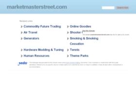 marketmasterstreet.com