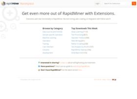 marketplace.rapidminer.com