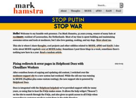 markhamstra.com
