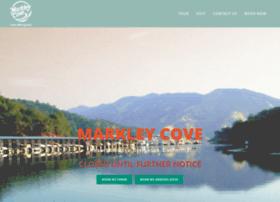 markleycoveresort.com