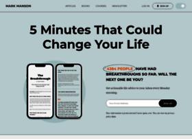 markmanson.net