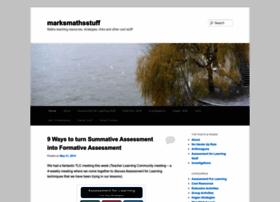 marksmathsstuff.wordpress.com