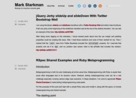 markstarkman.com