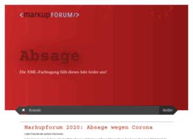 markupforum.de