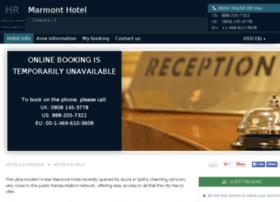 marmont-hotel-split.h-rez.com