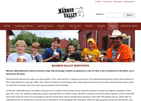 marmonvalleyministries.org