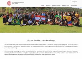 maroniteacademy.com
