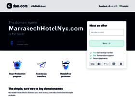 marrakechhotelnyc.com