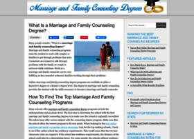 marriageandfamilycounselingdegrees.com