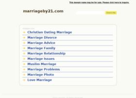 marriageby21.com