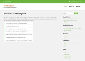marriagecv.com