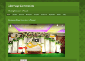 marriagedecoration.com