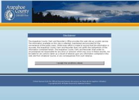 marriagelicenseapplication.arapahoegov.com