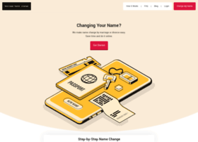 marriagenamechange.com