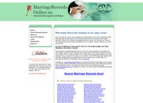 marriagerecordsonline.us