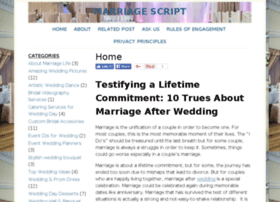 marriagescript.com