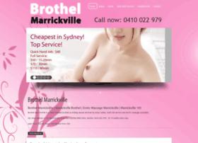 marrickvillebrothel.com