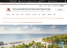 marriottharborbeach.com