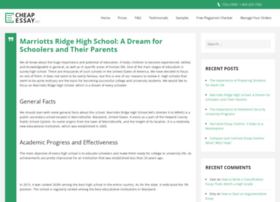 marriottsridge.net