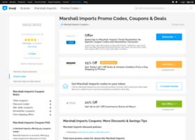 marshallimports.bluepromocode.com