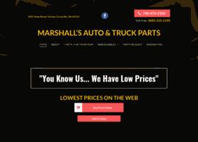 marshallsautoparts.com
