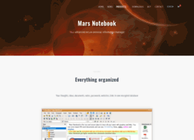 marsnotebook.com