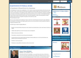 martenson.tributes.com