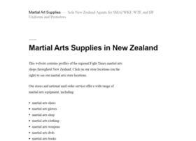 martialartsupplies.co.nz