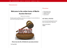 martinauctionservice.org