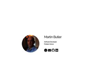 martinbutler.com