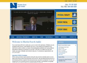 martinfootandankle.fosterwebmarketing.com