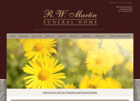 martinfuneralhome.net